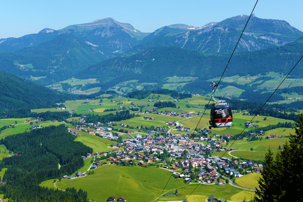 Sommerpanorama Abtenau