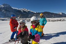 Toboggan and ski ticket rates for families