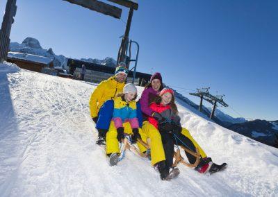 Winter Abtenau Rodeln