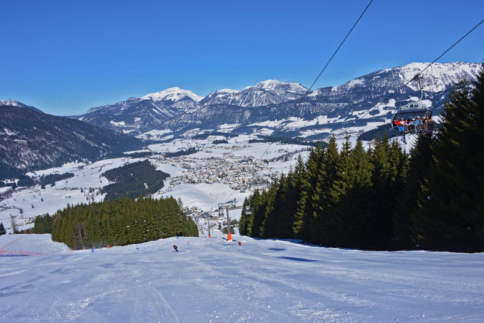 Winterlandschaft-Karkogel Abtenau