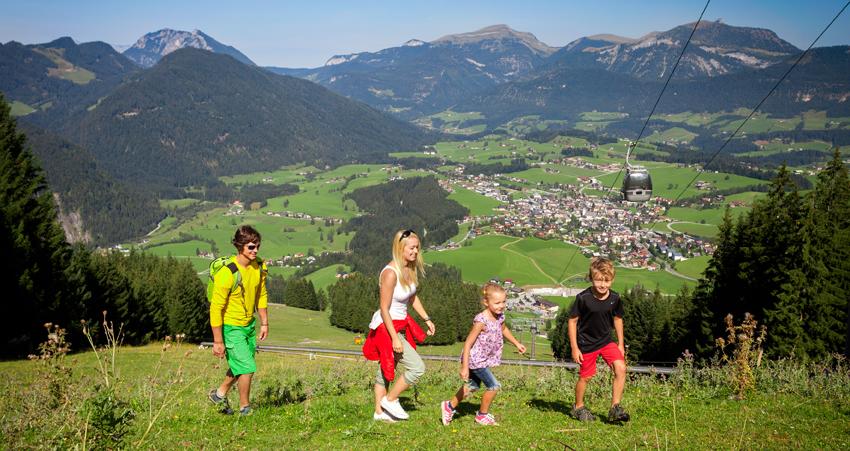 wandern am Karkogel im Salzburger Land
